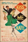 "Movie Posters:Musical, Kiss Me Kate (MGM, 1953). One Sheet (27"" X 41""). Musical.. ..."