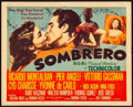 "Movie Posters:Western, Sombrero (MGM, 1953). Fine/Very Fine. Title Lobby Card (11"" X 14""). Western.. ..."