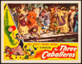 "Movie Posters:Animation, The Three Caballeros (RKO, 1945) Very Fine. Lobby Card (11"" X 14""). Animation.. ..."