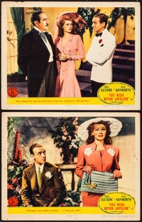 """You Were Never Lovelier (Columbia, 1942). Lobby Cards (2) (11"""" X 14""""). Musical. ... (Total: 2 Items)"""