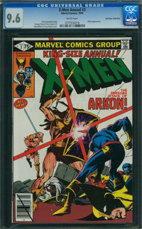 X-Men Annual #3 - Don Rosa Collection (Marvel, 1979) CGC NM+ 9.6 WHITE pages