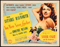 """You Were Never Lovelier (Columbia, 1942). Title Lobby Card (11"""" X 14""""). Musical"""