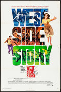 "Movie Posters:Academy Award Winners, West Side Story (United Artists, R-1968). One Sheet (27"" X 41""). Academy Award Winners.. ..."