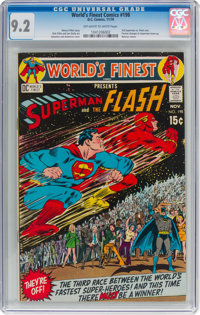 World's Finest Comics #198 (DC, 1970) CGC NM- 9.2 Off-white to white pages
