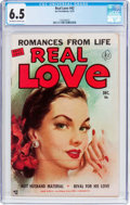Golden Age (1938-1955):Romance, Real Love #42 (Ace Periodicals, 1951) CGC FN+ 6.5 Off-white towhite pages....