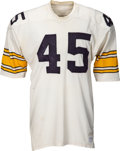 Football Collectibles:Uniforms, Mid 1970's Jimmy Allen Game Worn Pittsburgh Steelers Jersey....
