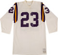 Football Collectibles:Uniforms, 1971 Jeff Wright Game Worn Minnesota Vikings Rookie Jersey....