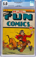 Golden Age (1938-1955):Miscellaneous, More Fun Comics #37 (DC, 1938) CGC VG/FN 5.0 Cream to off-white pages....