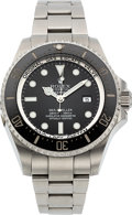 Timepieces:Wristwatch, Rolex, Oyster Perpetual Sea-Dweller/Deep Sea, Stainless Steel, Ref. 116660, Circa 2010. ...