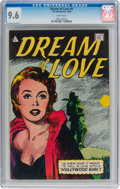 Silver Age (1956-1969):Romance, Dream of Love #8 (I.W., 1958) CGC NM+ 9.6 White pages....