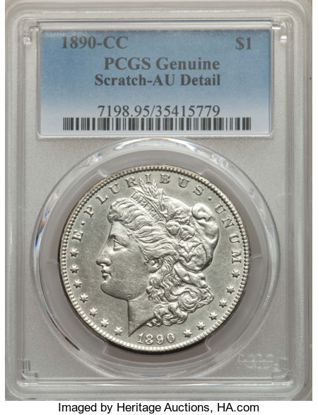1890 CC $1 MS Morgan Dollars | NGC