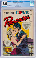 Golden Age (1938-1955):Romance, Youthful Love Romances #2 (Pix Parade, 1949) CGC VG/FN 5.0 Cream tooff-white pages....