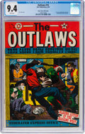 Golden Age (1938-1955):Western, Outlaws #10 Mile High Pedigree (Star Publications, 1952) CGC NM 9.4 White pages....