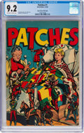 Golden Age (1938-1955):Miscellaneous, Patches #1 Mile High Pedigree (Rural Home, 1945) CGC NM- 9.2 Off-white to white pages....