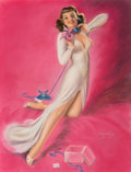 Other, Billy De Vorss (American, 1908-1985). Flower of Youth. Pastel on board. 28 x 22 in.. Signed lower right. ...