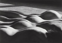 Lucien Clergue (French, 1934-2014) Four Nudes in Town, New York, 1983 Gelatin silver, 2006 9-1/2