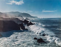 Photographs, Cole Weston (American, 1919-2003). Palo Corona Ranch, Caramel, 1962; Surf and Headlands, 1958 (two photographs). Dye... (Total: 2 Items)