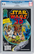 Modern Age (1980-Present):Science Fiction, Blackthorne 3-D Series #30 and 3-D Glasses Group (BlackthornePublishing, 1987) CGC NM+ 9.6 White pages.... (Total: 2 Items)