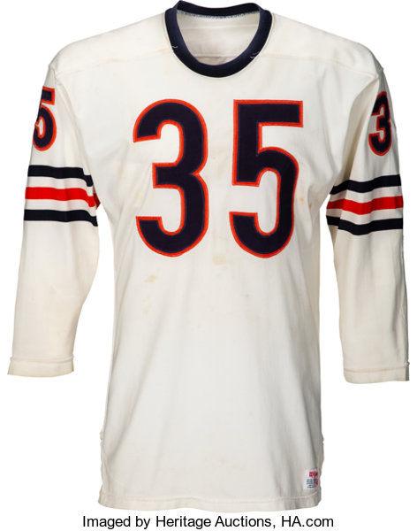 uk availability 61b4a d1047 1973 James Harrison Game Worn Chicago Bears Jersey ...