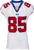 Football Collectibles:Uniforms, 2003 David Tyree Game Worn & Unwashed New York Giants Jersey - Photo Matched to 11/16 vs. Eagles. ...