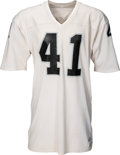 Football Collectibles:Uniforms, 1970's Phil Villapiano Game Worn Oakland Raiders Jersey....
