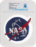 "Explorers:Space Exploration, NASA ""Meatball"" Vector Logo: Neil Armstrong's Personally-Owned AB Emblem Type V Insignia Patch Directly From The Armst..."
