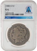 Explorers:Space Exploration, 1900-O $1 G4 NGC Morgan Silver Dollar Directly From The Armstrong Family Collection™, Certified and Encapsulated by Co...