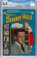 Golden Age (1938-1955):Romance, Miss Beverly Hills of Hollywood #9 (DC, 1950) CGC FN+ 6.5 Off-whiteto white pages....