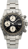 "Timepieces:Wristwatch, Tudor Oysterdate Ref 94300, Chronograph ""Big Block"", Circa 1980...."