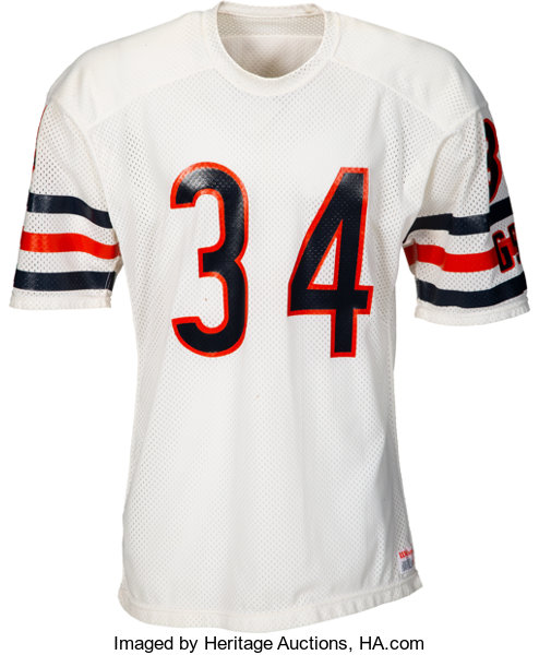 buy online 0317d fdc94 1986 Walter Payton Authentic Model Chicago Bears Jersey ...