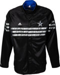 Basketball Collectibles:Others, 2011 Ray Allen NBA All-Star Game Worn Warmup Jacket with NBALetter. ...