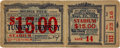 """Boxing Collectibles:Memorabilia, 1927 Jack Dempsey vs. Gene Tunney """"Long Count"""" Full Ticket...."""