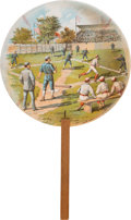 Baseball Collectibles:Others, 1888 Boston Beaneaters Baseball Fan....
