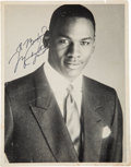 Basketball Collectibles:Photos, 1980's Michael Jordan Signed Photograph - Vintage Signature. ...
