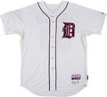 Baseball Collectibles:Uniforms, 2015 Kyle Lobstein Game Worn Detroit Tigers Stars & Stripes Jersey....