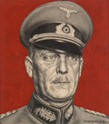 Other, Ernest Hamlin Baker (American, 1889-1975). Wilhem Keitel, Time magazine cover, July 4, 1941. Pencil and gouache on board...