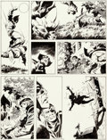 Original Comic Art:Panel Pages, John Buscema Wolverine: Bloody Choices