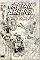John Romita Sr. Captain America #141 Cover Original Art (Marvel, 1971).... (1)