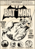 Original Comic Art:Covers, Nick Cardy Batman #254 Cover Man-Bat Original Art (DC, 1974)....