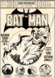 Nick Cardy Batman #254 Cover Man-Bat Original Art (DC, 1974)