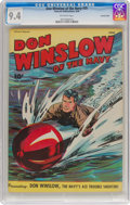 Golden Age (1938-1955):War, Don Winslow of the Navy #35 Crowley Copy Pedigree (FawcettPublications, 1946) CGC NM 9.4 Off-white pages....