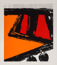 Ray Elman (b. 1955) All's Well That Ends Well, 1981 Serigraph in colors on paper 28 x 24 inches (