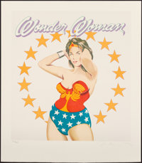 Mel Ramos (b. 1935) Wonder Woman, 1981 Lithograph in colors on paper 19 x 17-1/2 inches (48.3 x 4