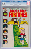 Bronze Age (1970-1979):Humor, Richie Rich Fortunes #1 File Copy (Harvey, 1971) CGC NM 9.4Off-white to white pages....