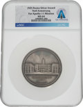 Explorers:Space Exploration, Apollo 11: City of Rome Silver Medal MS64 NGC, Presented by the Mayor of Rome to Neil Armstrong, Directly From The Armstrong F...