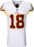 Football Collectibles:Uniforms, 2017 Josh Doctson Game Worn, Unwashed & Signed Washington Redskins Jersey - Photo Matched to 11/5/17 vs. Seahawks....