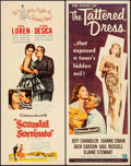 """Movie Posters:Foreign, Scandal in Sorrento & Other Lot (DCA, 1957). Inserts (2) (14"""" X 36""""). Foreign.. ... (Total: 2 Items)"""