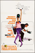 """Movie Posters:Crime, How to Steal a Million (20th Century Fox, 1966). One Sheet (27"""" X41"""") & Cut Pressbook (18 Pages, 8.75"""" X 13.75"""") Robert McG...(Total: 2 Items)"""