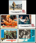 """Movie Posters:War, The Longest Day & Others Lot (20th Century Fox, 1962). Lobby Cards (5) (11"""" X 14""""). War.. ... (Total: 5 Items)"""