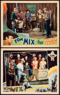 """Movie Posters:Western, My Pal, the King & Other Lot (Universal, 1932). Lobby Cards (2) (11"""" X 14""""). Western.. ... (Total: 2 Items)"""